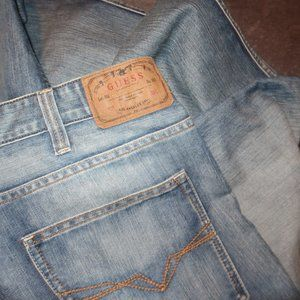 NWT GUESS MENS KENNEDY COMFORT JEANS SIZE 40X33